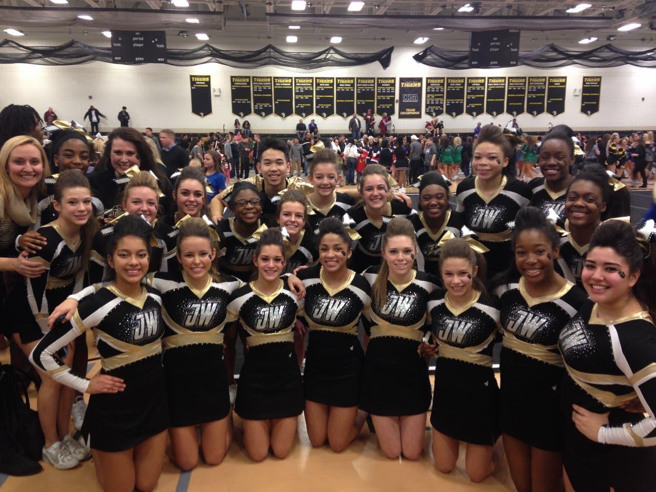 Oakwood Cheerleaders Proud Of Awards Community Commercial News Com
