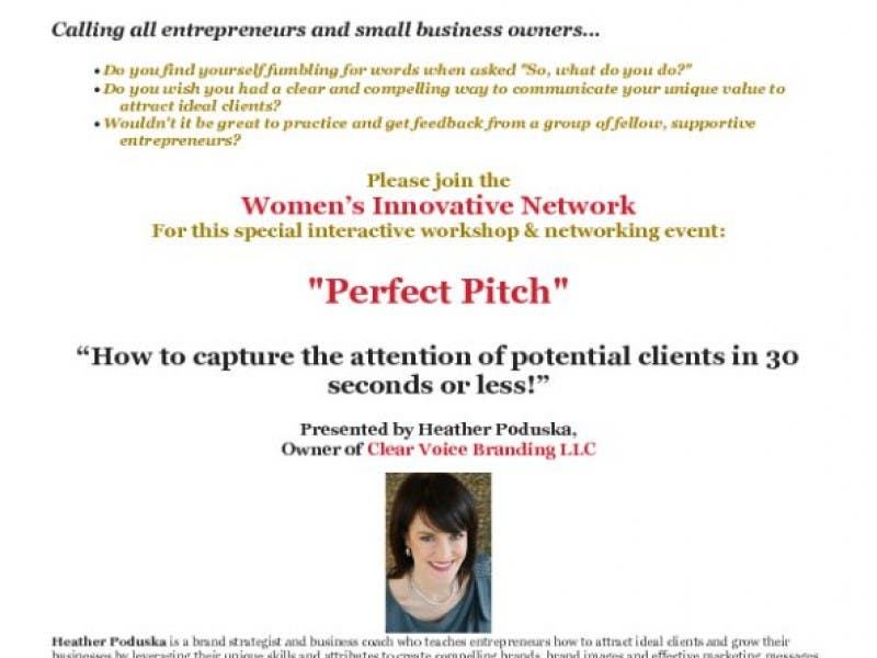 Women s Innovative Network Professional Development Presentation ... af1dd1302e