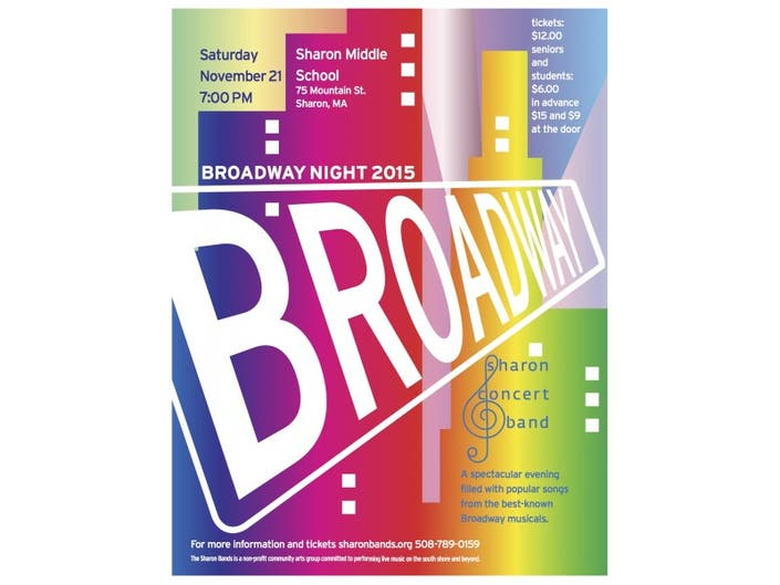 Broadway Night with Sharon Concert Band | Sharon, MA Patch