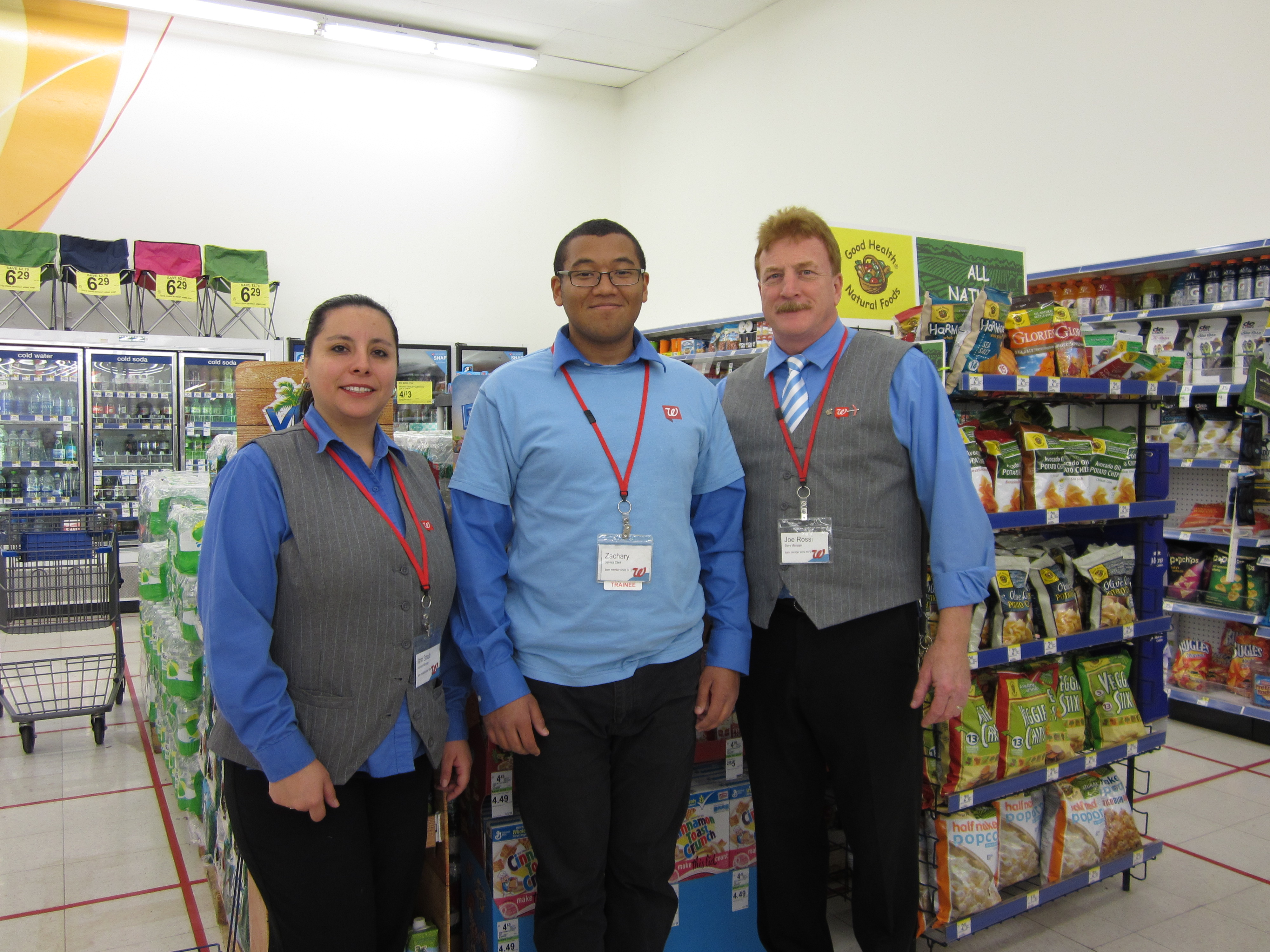Walgreens Employee Login >> Phoenix Center Student Named Employee Of The Month At Local