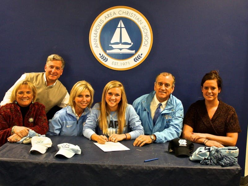 Area Teen Commits To Play Lacrosse At Unc Annapolis Md Patch