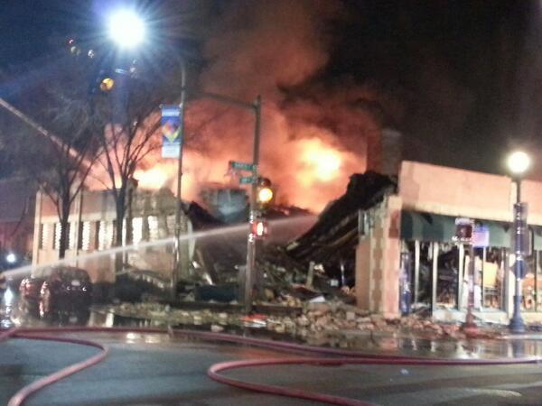 Fire Destroys 2 Restaurants And Nail Salon Sunday | Niles