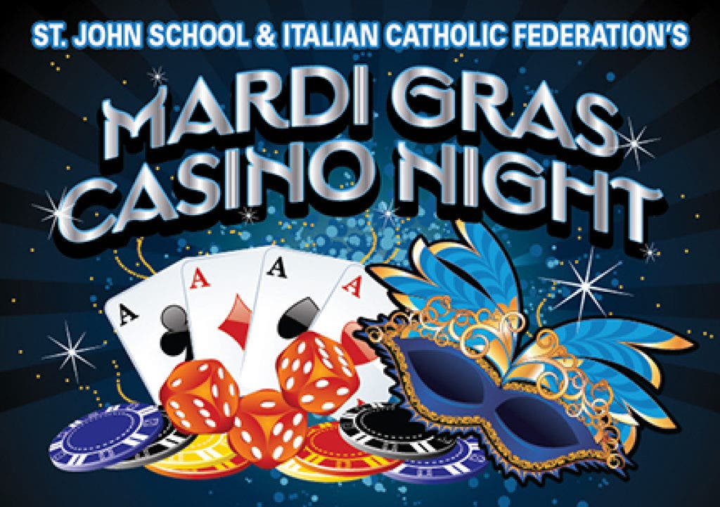 St  John School/ICF #52 Mardi Gras Casino Night | Healdsburg, CA Patch