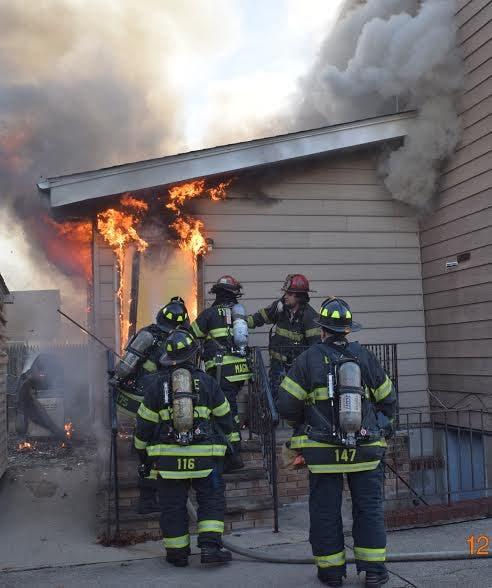 Photos: Fire Tears Through Merrick Home