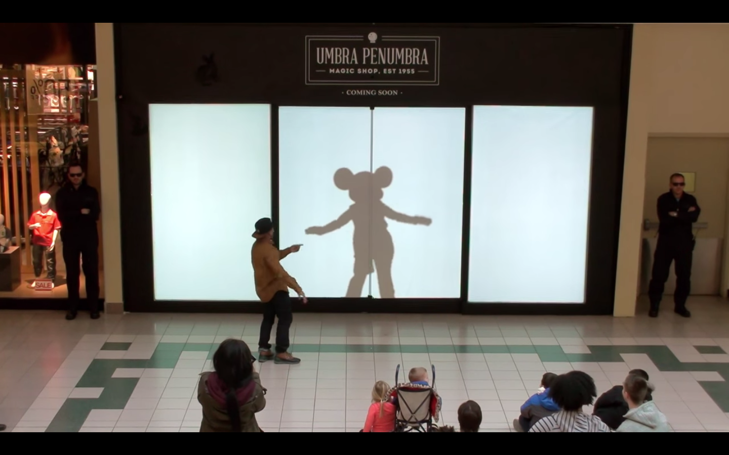 WATCH: Mickey Mouse Dance Battles in Long Island Mall