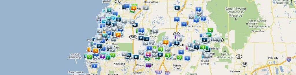 Pasco Sheriff's Website Lets You Map Central Pasco Crime