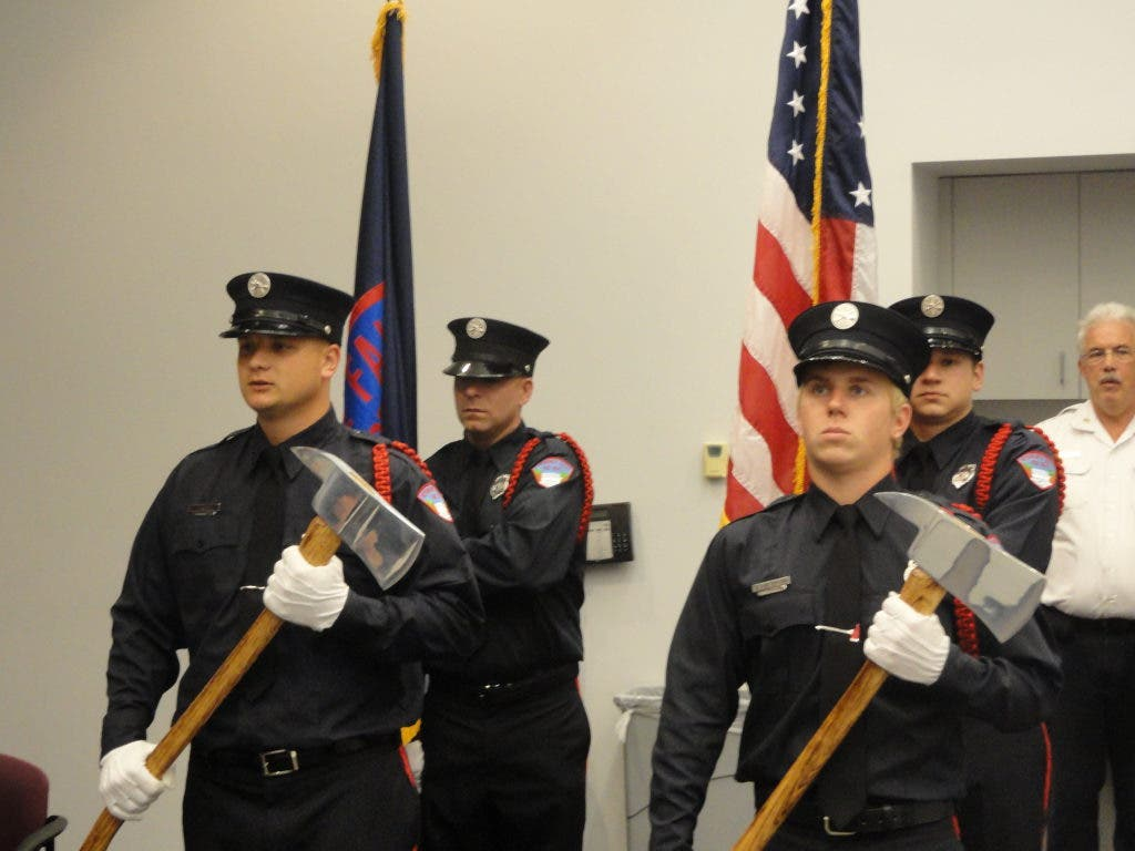 Falls Fire Department Adds Two Firefighters, Promotes
