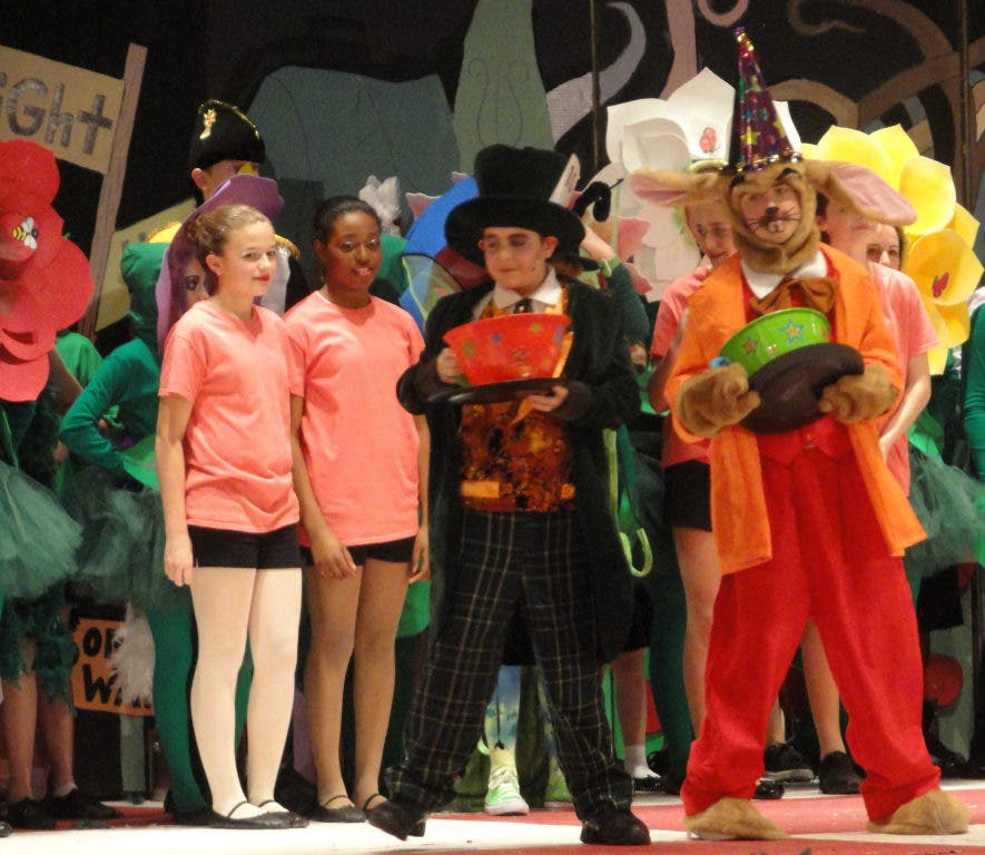 "Curtain Call: St Benedict's ""Alice In Wonderland Jr"