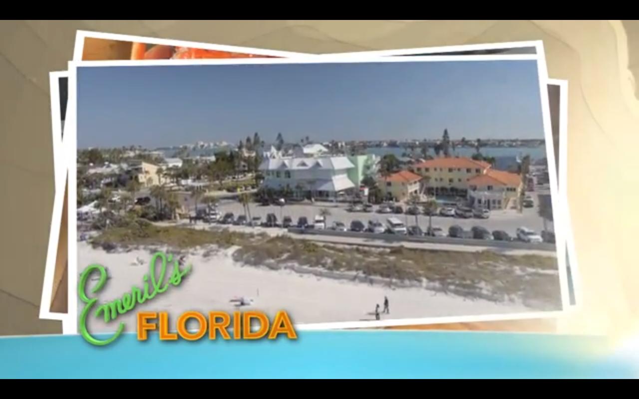 Emeril S Florida To Feature St Pete Beach Restaurant