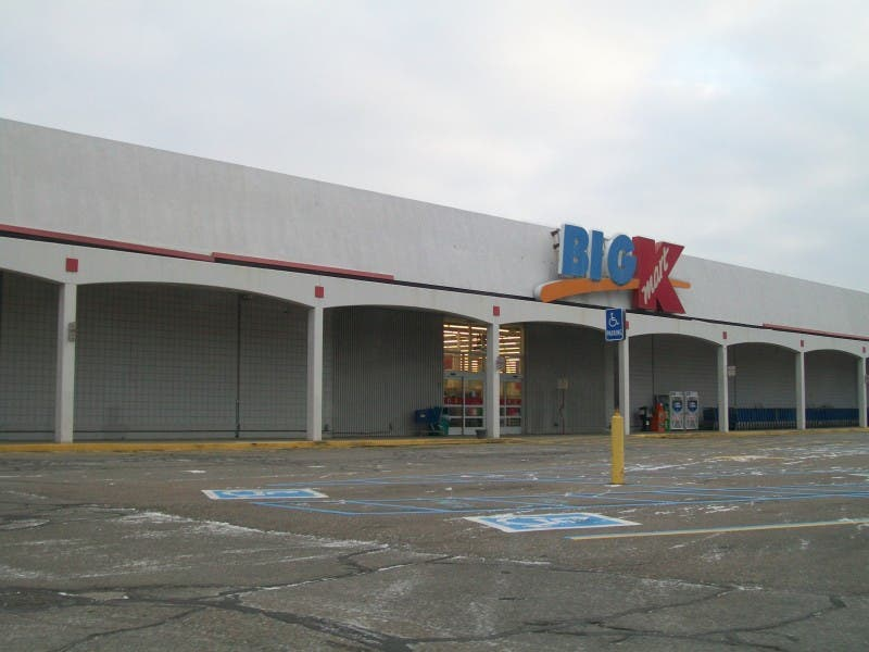 woodhaven official kmart site too small for costco