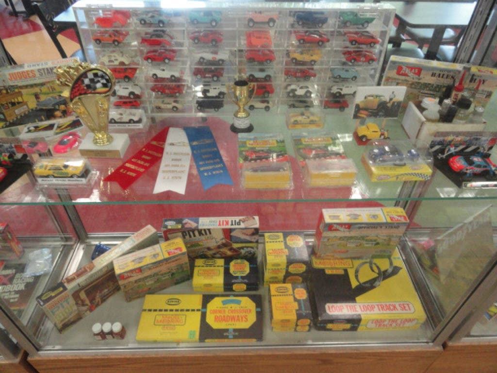 Vintage Slot Car Collection on Display at the Library | East