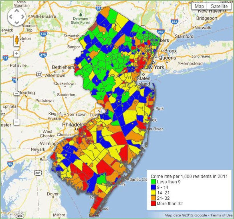 How Does Crime in Ramsey Compare to Neighboring Towns