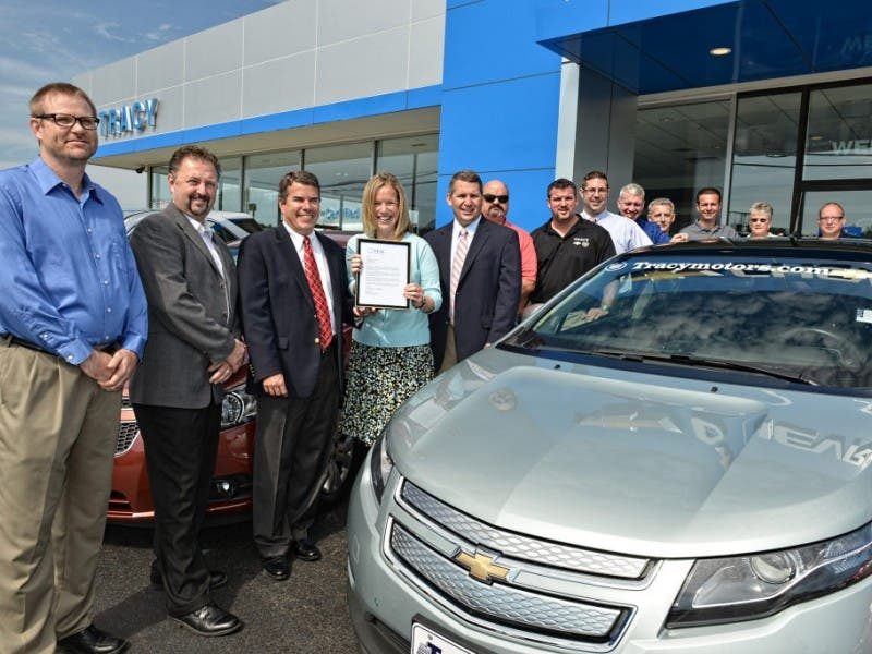 Great Tracy Chevrolet Commits To Fuel Efficiency