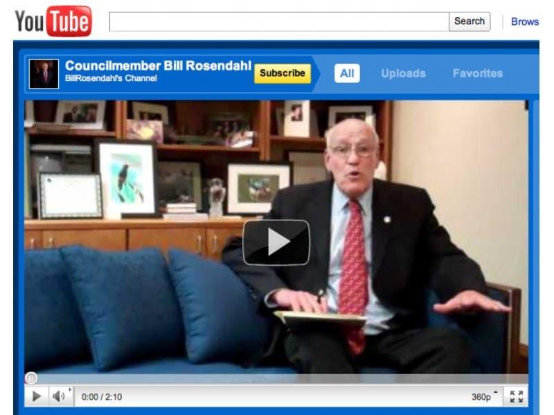 Rosendahl Goes from Boob Tube to YouTube