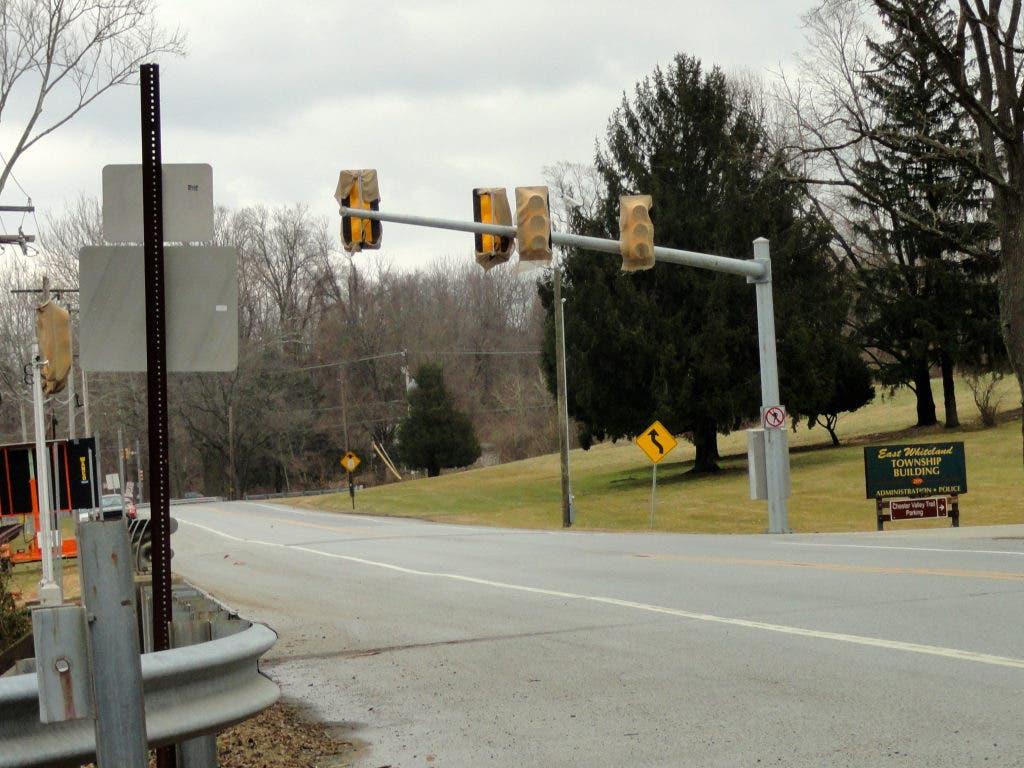 New Traffic Light Precedes Construction Backups | Malvern, PA Patch