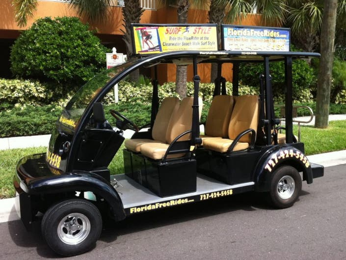Golf Cart Regulations Roved For Clearwater Beach 0