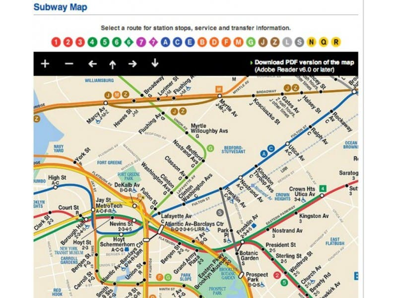 Mta Brings Subway Map Into Smartphone Age Windsor Terrace Ny Patch