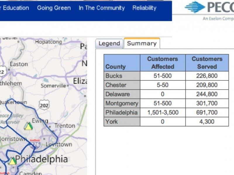 Peco Cuts Power To Volunteers While Countless Ac Units Hum