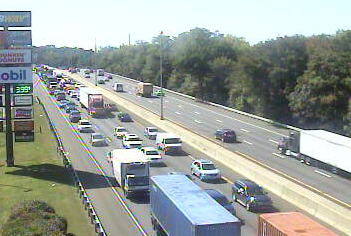 Traffic Delayed by Motor Vehicle Accident on I-95 Northbound