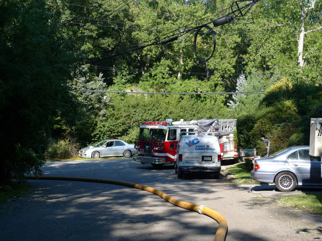 Electrical Fire in the Town of Mamaroneck Caused By