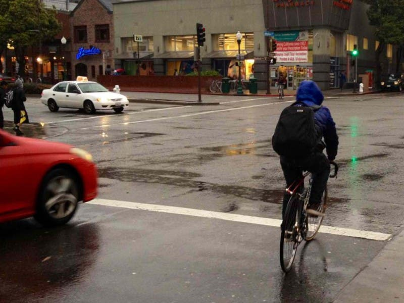 wet weather no problem a short guide to biking in the rain