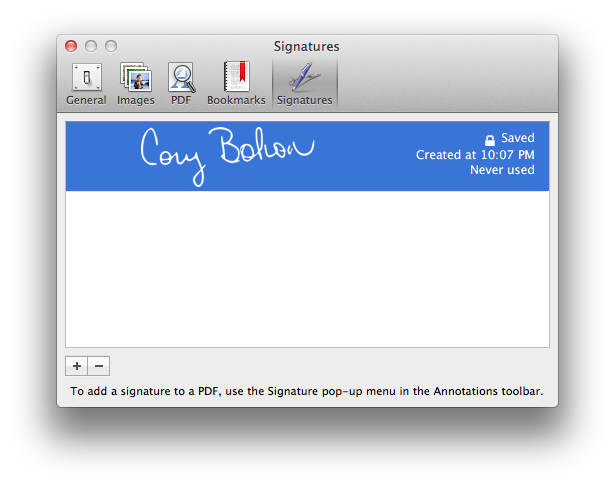 How To Create A Signature And Sign And Date PDF Documents ...