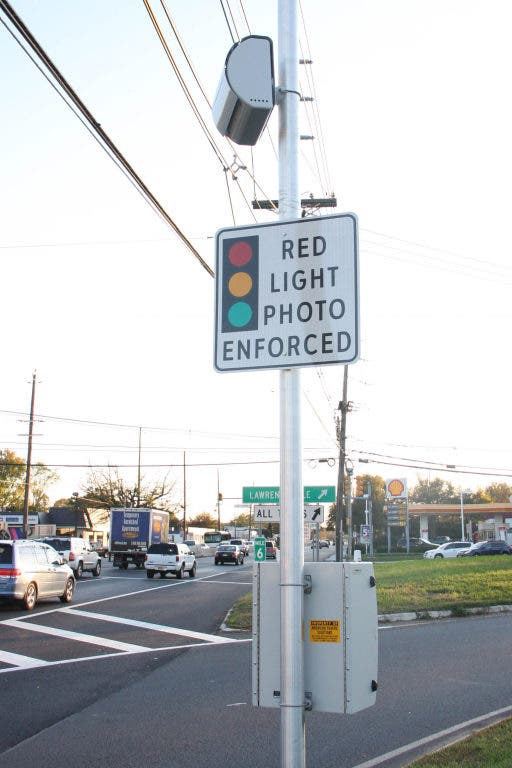 Red Light Cameras Now Fully Operational on Route 1