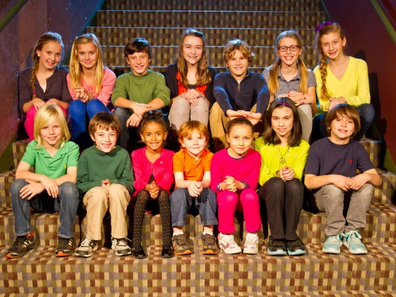 two lawrence children in cast of a christmas carol - Cast Of Christmas Carol