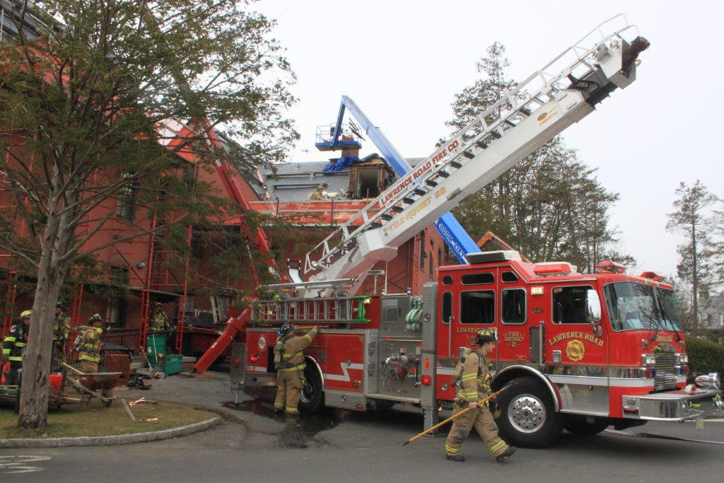 Small Fire Damages Roof Of Lawrenceville School Dorm