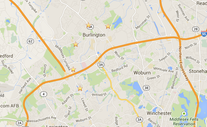 OFFENDER MAP: Where Do Burlington's Highest Level Offenders ... on