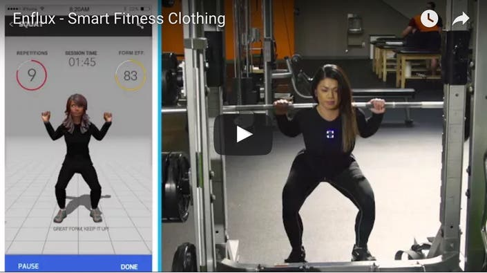 Wilmington Native Launches Smart Fitness Clothing Line