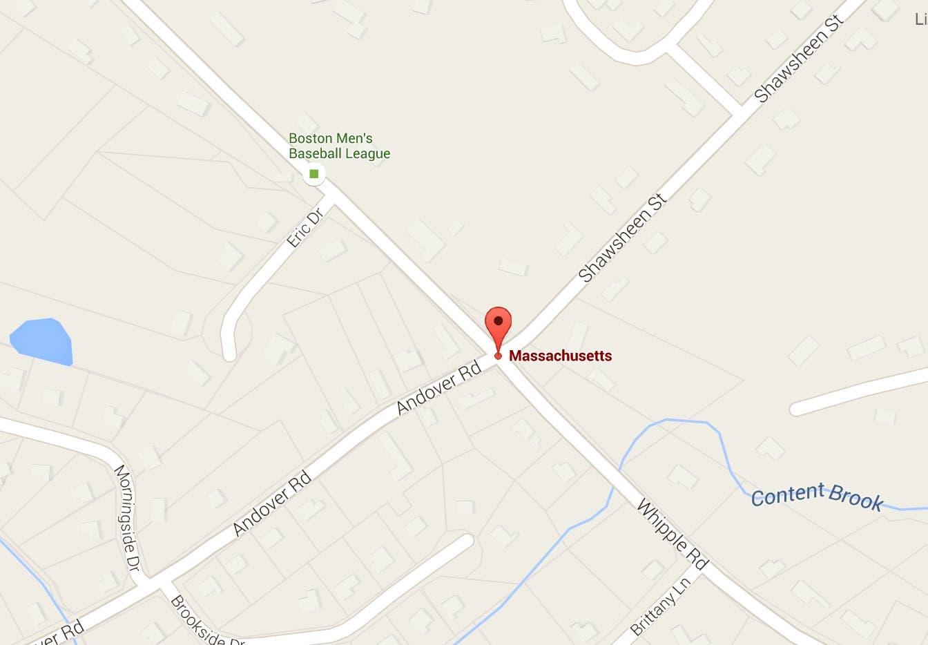 Car Crash on Whipple Road Thursday Night | Tewksbury, MA Patch