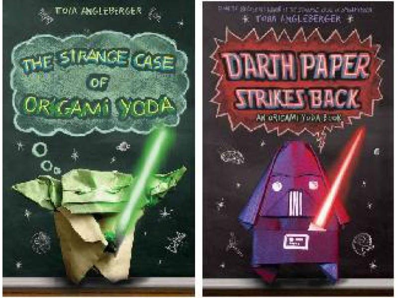Celebrate The Star Wars Universe In Books Make Origami Yoda And