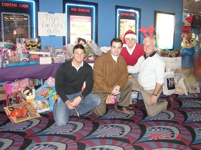 RI Orthodontics Hosts Movie Day For Toys For Tots | East
