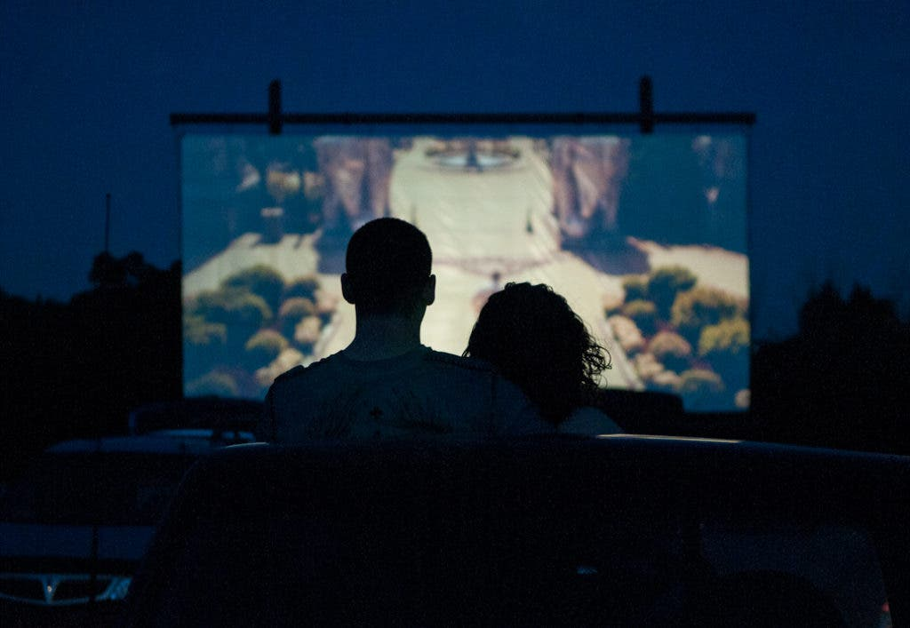 Go to a 'Drive in' Movie Theater at the Community Center ...