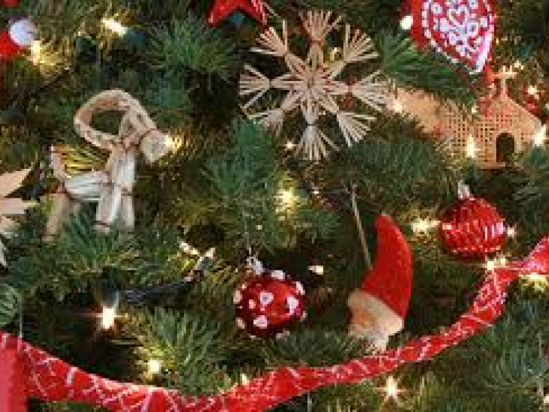 Swedish Christmas Decorations adorn Cottages in the Woods Scandinavian Sale Sat/Sun 16/17th | Geneva, IL Patch