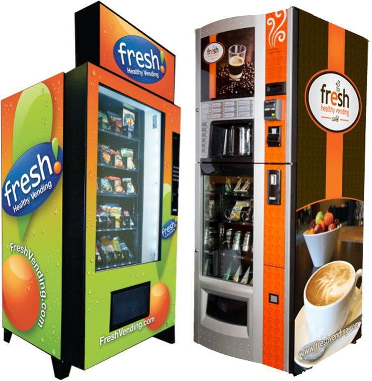 Vending Machines Make Technological Advances, Offering Organic