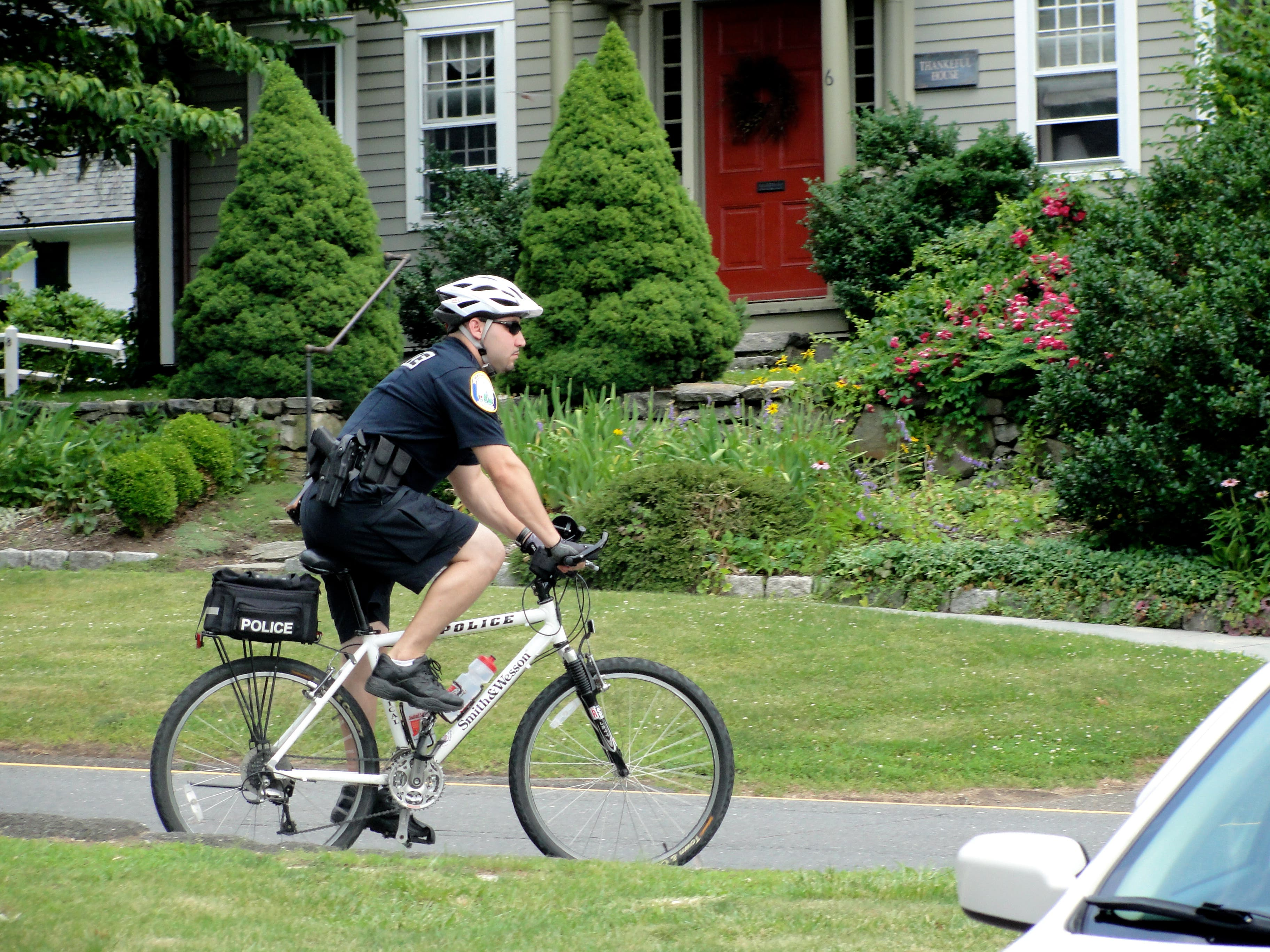 Police Patrol Town on Bikes | Newtown, CT Patch