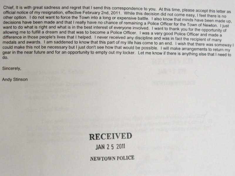 read resignation letters of 2 officers at center of police union probe 0