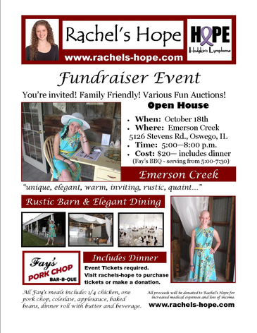 Rachel S Hope Fundraiser At Emerson Creek Pottery