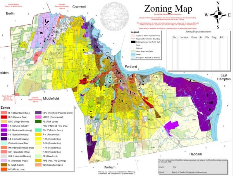 Developers Should Not Author Zoning Code Middletown Ct Patch