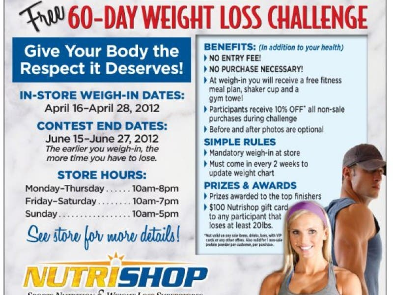 60 Day Weight Loss Challenge Glendora Ca Patch