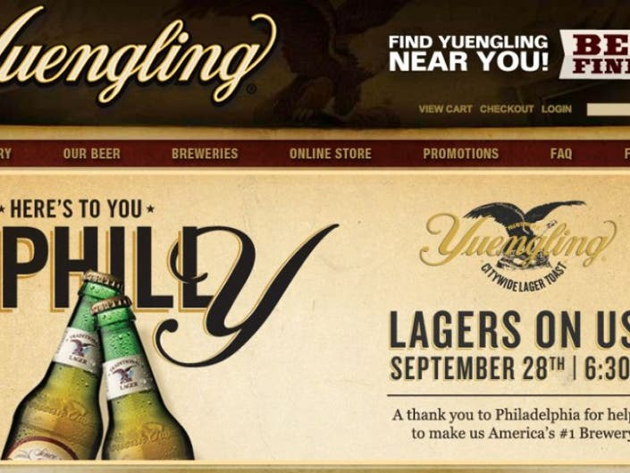 Yuengling Offers FREE BEER TODAY   Lower Providence, PA Patch