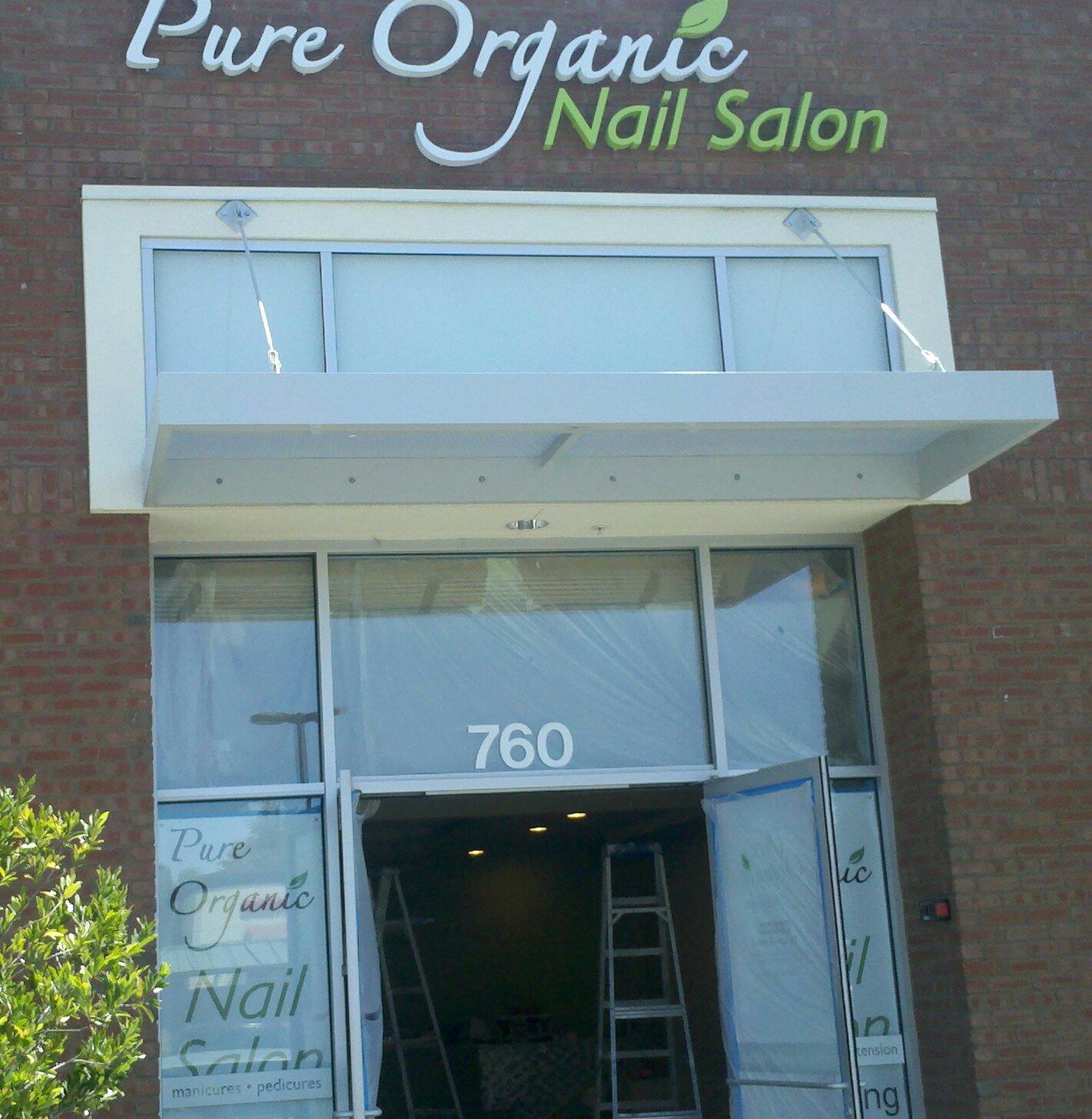 Sprouts & Shutters: Pure Organics Nail Salon Open