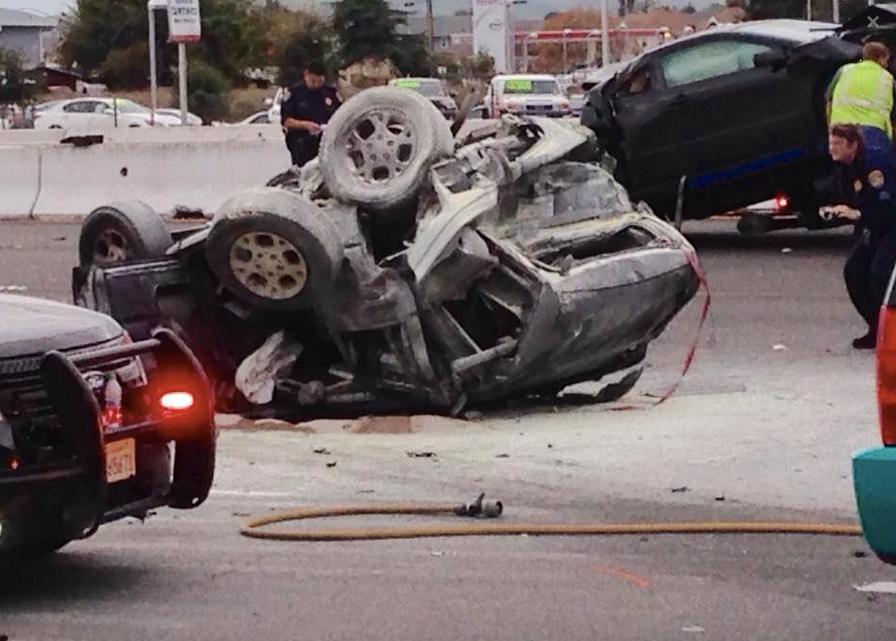 Fatal Crash Still Blocking Lanes on Eastbound I-580 in