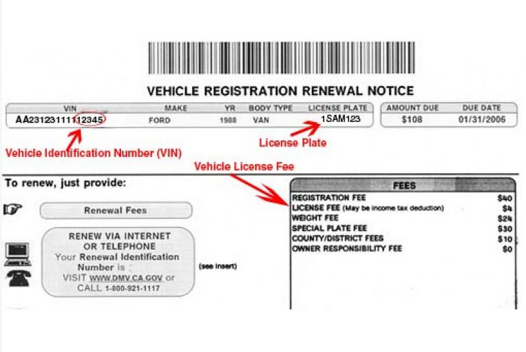 Vehicle Registration Renewal Ca >> Do You Know What Dmv Fees Are Tax Deductible Danville Danville