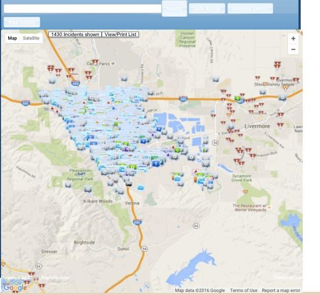 Check Pleasanton Crime Statistics in Your Neighborhood Using ...