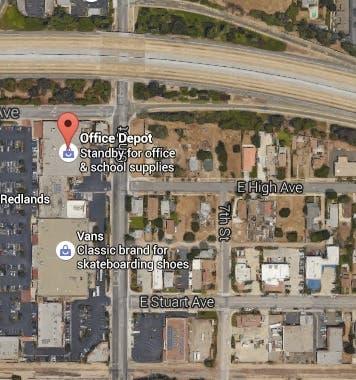 Shooting At Redlands Office Depot: Suspect Targeted
