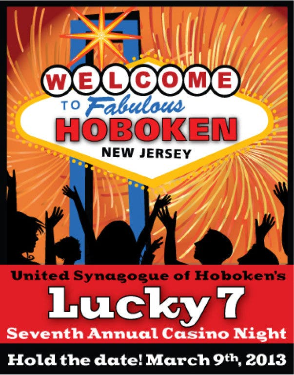 Hoboken synagogue casino night menu