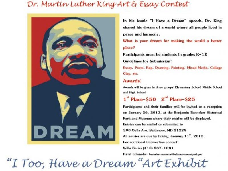 martin luther king jr essay contest 2012